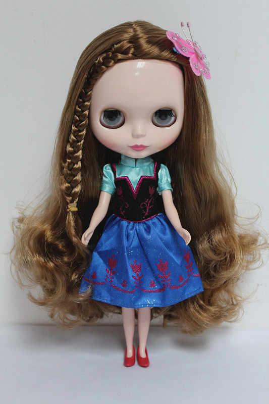 จัดส่งฟรีบิ๊กส่วนลดRBL-13DIYเปลือยตุ๊กตาไบลท์ของขวัญวันเกิดสำหรับสาว4สีตุ๊กตาดวงตาขนาดใหญ่ที่มีผมสวยน่ารักของเล่น