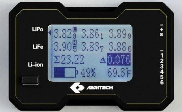 Ультра-высокого точность липо питание от аккумулятора средства контроля 2 S - 6 S напряжение аккумулятор монитор DIY FPV quadcopter дроны асса
