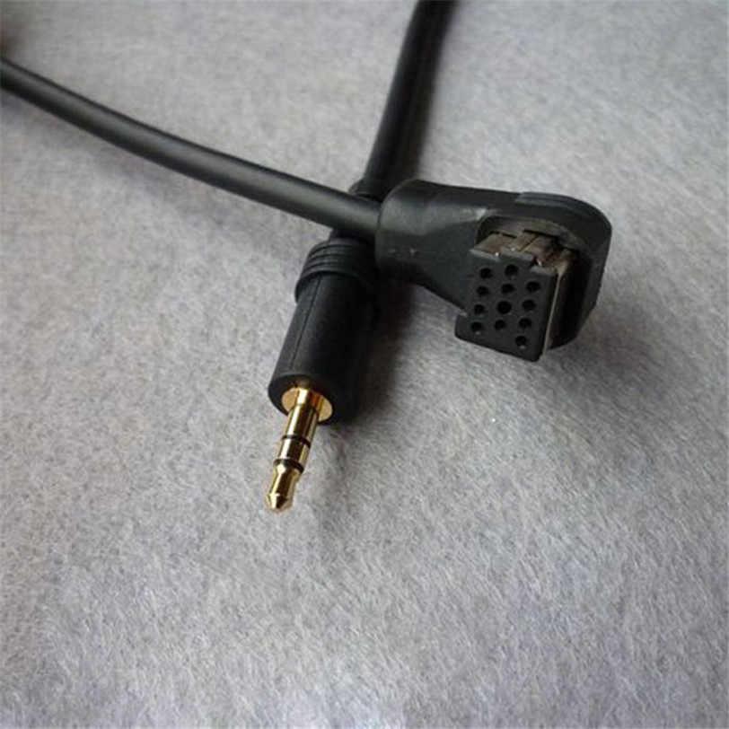 3.5 ミリメートル AUX オーディオ入力 Pioneer CD-RB10 RB20 iB100 iphone ipod コネクタケーブル車スタイリング送信機の付属品