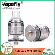 Original Vapefly Galaxies MTL RDTA 22mm MTL Squonk RDTA 2ml capacity Top-filling/Bottom feeding Anti-heat rdta vaporizer e cigs(China)