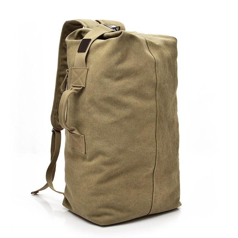 2018 Large Capacity Male Canvas Backpacks Man Travel