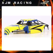 1/5 rc car Split Body Shell set+Plastic Roll Cage fit HPI Rovan Baja 5T 5SC king motor truck