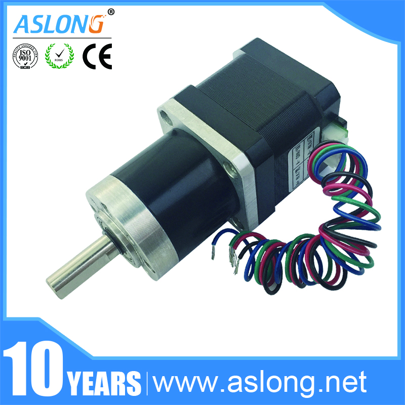 ASLONG Hybrid low noise high torque PG36-42BY dc planetary gear motor, micro stepper motor