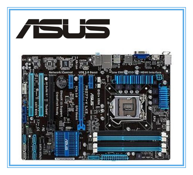 все цены на ASUS original motherboard  P8Z77-V LX2  DDR3 LGA 1155 boards Support I3 I5 I7 32GB USB 3.0 Z77 Desktop motherborad mainboard онлайн