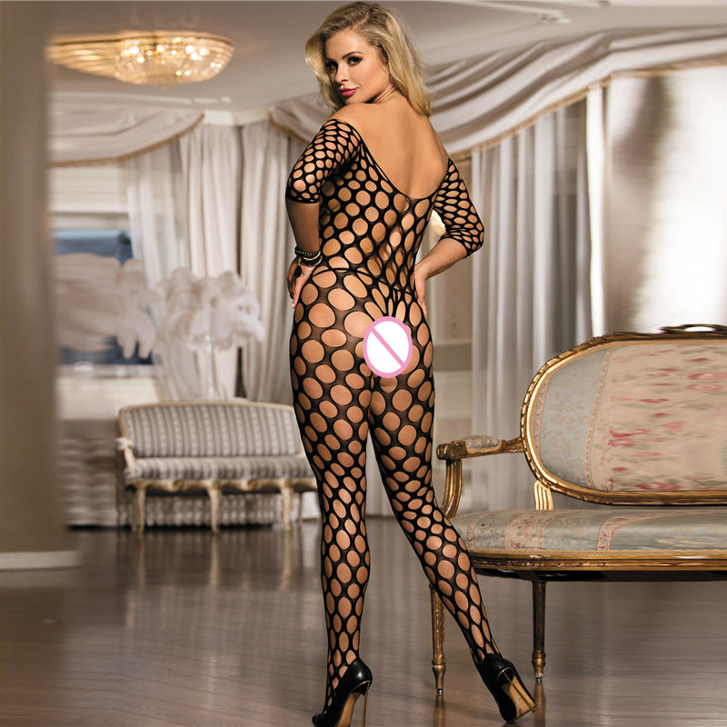 Women Plus Size Sexy Lingerie Sex Net Stockings Big Size Babydolls Chemise Nightgown Mujer sexy Temptation lingerie in Babydolls Chemises from Novelty Special Use