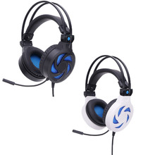 Stereo Surround Gaming Headset Auricular de La Venda de 3.5mm con el Mic para PC Claro de La Manera 17Sept27
