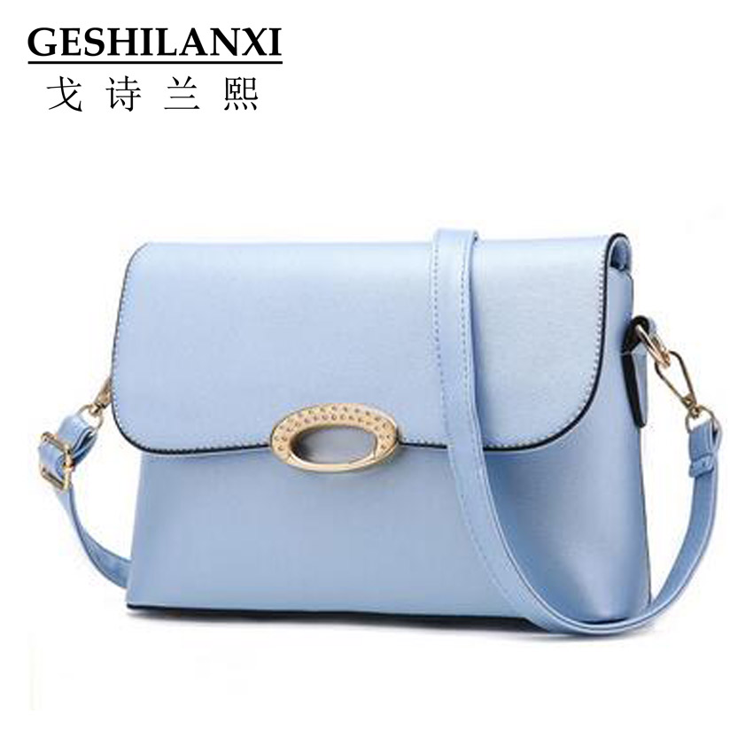 ФОТО 2016 bags women famous brands designer messager handbags fashion Envelope package small oval Hasp