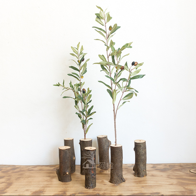 Buy artificial olive branch for home for Decoration jardin olivier