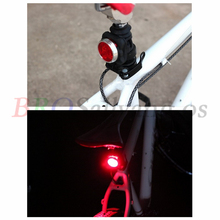USB Rechargeable Cycling 3LED Head Front Rear Tail Clip Light /4Modes Bike Waterproof Lamp Bicycle Charging Warning light