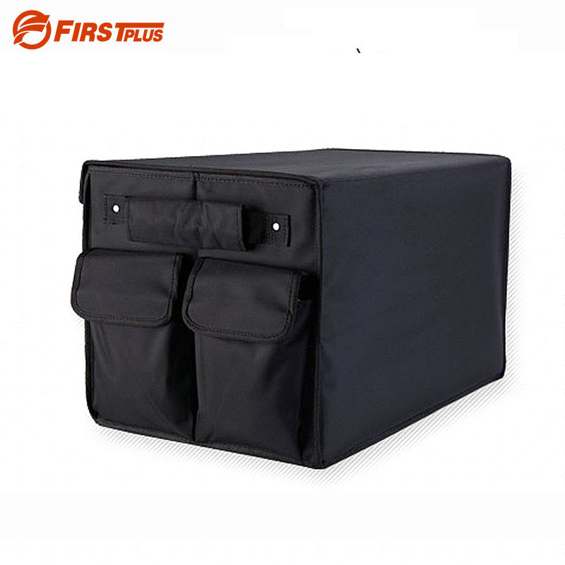 Oxford Foldable Car Boot Trunk Organizer Auto Travel Organizer Toys Food Snacks Storage Box Container Bags
