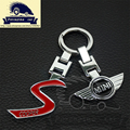 mini cooper keychain car key rings key chain car Auto car logo for bmw mini accessories,car-styling