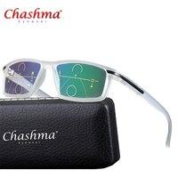 d13723db9 Progressive Multifocal Glasses Transition Sunglasses Photochromic Reading  Glasses Men Points For Reader Near Far Sight Diopter