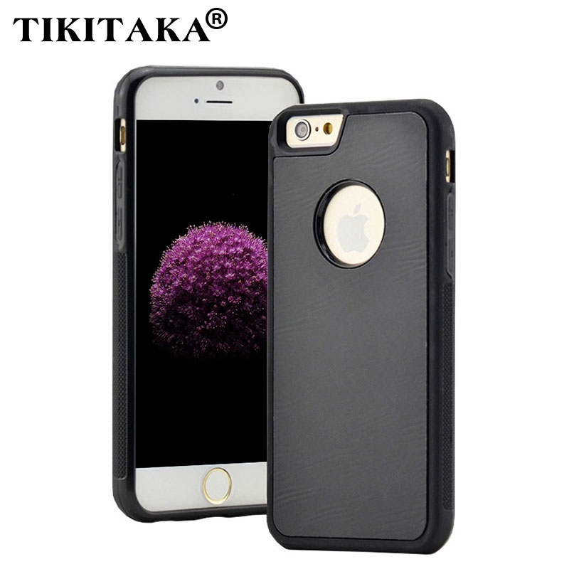 Anti gravity Case For iPhone 5 5s SE 6 6S Plus Case Magical Antigravity Nano Suction Cover Anti-gravity Adsorbed Hard Case Shell