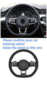 Black DSG Paddle Shift Shifters Racing Replacement For VW POLO GTI 1.4T 12 - 17