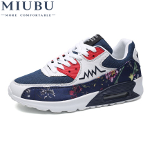 MIUBU Man Breathable Shoes For Men Sneakers Bounce Summer Outdoor Professional Brand Designer