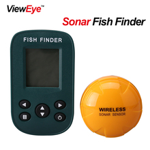 Newest Smart Portable Fish Finder VWE-X9FD Rechargeable Sonar Fish Finder Wireless 125KHz Sonar Sensor Wireless Fishfinder