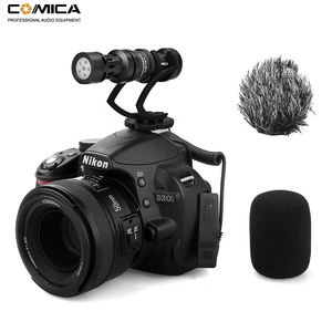 Image 5 - Comica CVM VM10II Mini Video Microphone Directional Interview Recording Mic for Canon Nikon DSLR Camera for iPhone Smartphones
