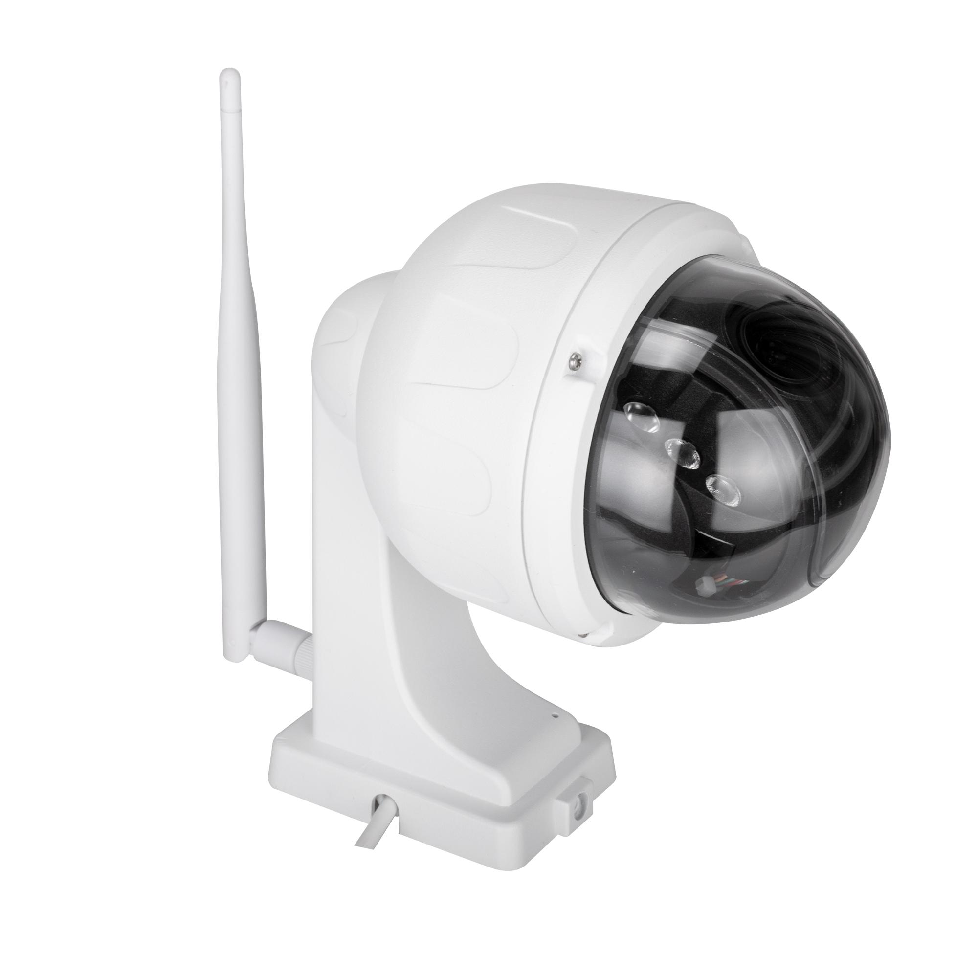 Wireless PTZ Dome IP Camera Outdoor 720P HD 4X Zoom CCTV Security Video Network Surveillance IP Camera Wifi C7833WIP-X4