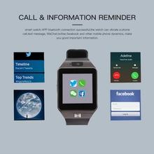 Smart Watch Bluetooth Smartwatch ekran dotykowy urządzenia przenośne dla telefonu z systemem Android otrzymać telefon zwrotny od SIM mężczyzna zegarka kobiet bransoletka zegarek tanie tanio Outdoor