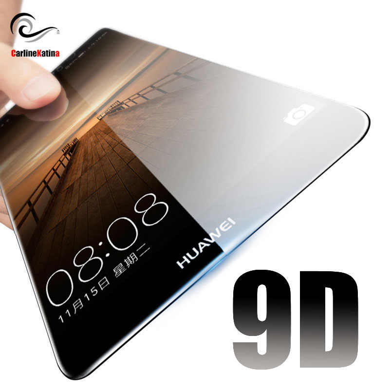 9D Tempered Glass For Huawei P Smart Nova 2s 2i 2 Y6 Y9 Y5 2018 lite 3e For Honor 10 9 Lite 9i Screen Protector Full Film Case