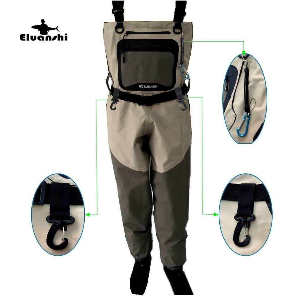 Fly одежда для рыбалки мух непромокаемые сапоги для мужчин куликов для рыбалки Воздухопроницаемый Тактический Охота flieas груди одежда Детски...