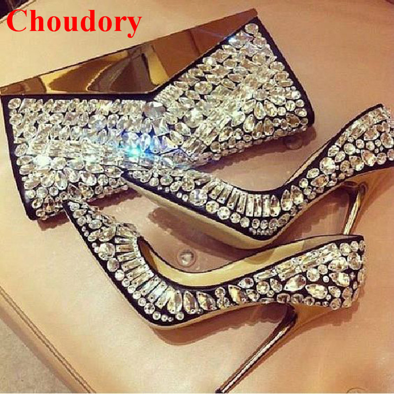 3cc32841a7f Bridal Wedding Shoes Fashion Tia Rich Crystal Encrusted Pointed Toe Beaded  Stiletto Heels Pumps Women Jeweled Celebrity Shoes