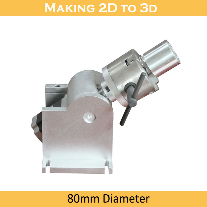 Tasuta kohaletoimetamine Lasermarker 20W kiudoptiline 4. pöörleva - Puidutöötlemisseadmed - Foto 5