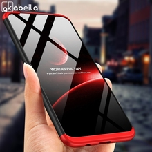 3 in 1 Case for Samsung galaxy M20 M10 Case Matte 360 All-around Protection Slim Hard Back Cover for Samsung M20 Case Bumper Bag