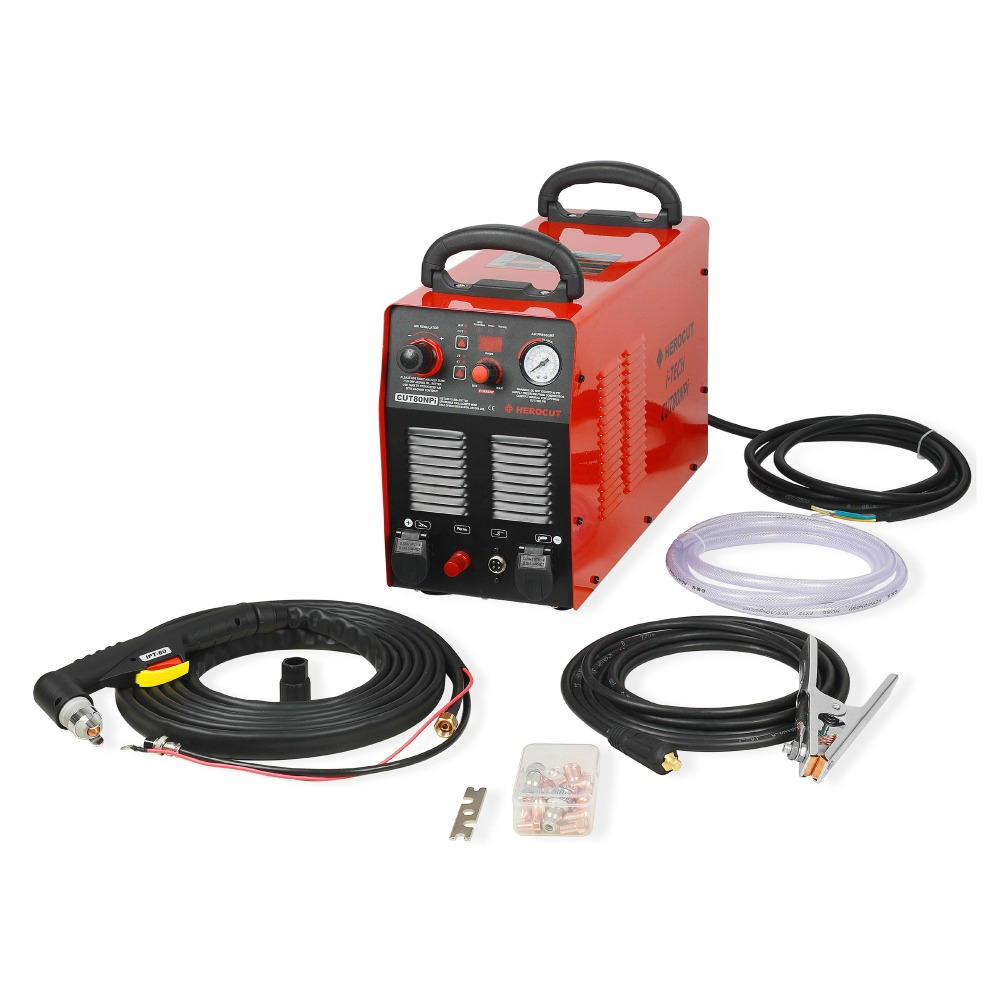 CNC Non-HF Pilot Arc HC8000 80A 220V IGBT Plasma Cutter Digital Control Plasma Cutting Machine Cutting Thickness 25mm Show