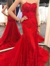 Vinca sunny Red Mermaid Lace Sexy Evening Gowns Long Evening Dress For Women New Style Robe De Soiree 2019 запчасть vinca sport vinca sport зажим подседельного штыря