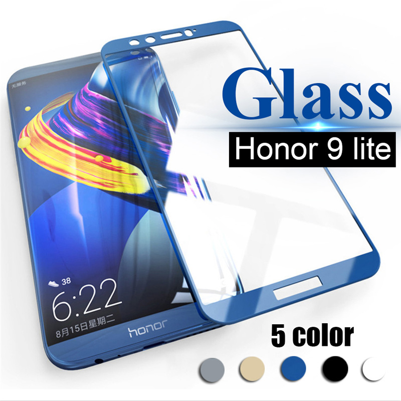 Honor 9 lite Защитное стекло для honor 9 lite 9 lite пленка закаленное стекло Защита экрана на honor 9 lite 9 светильник защитное стекло-in Защитные стёкла и плёнки from Мобильные телефоны и телекоммуникации