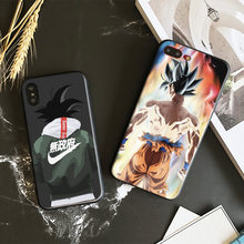 Dragon Ball Z DBZ Super DBS Goku Fashion TPU Soft Silicone Phone Case Cover For Apple iPhone 5 5s Se 6 6s 7 8 Plus X XR XS MAX(China)