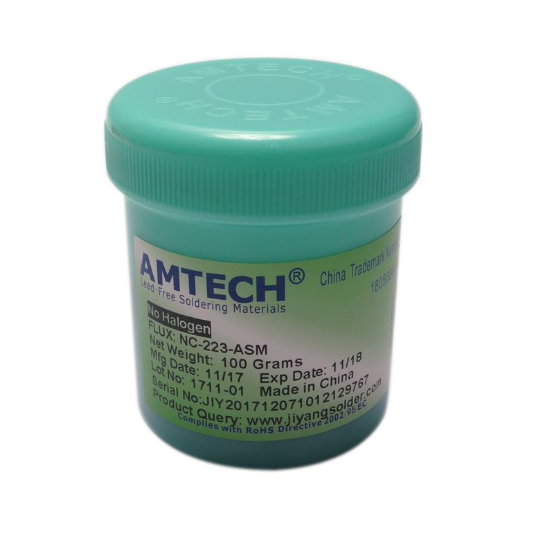 100g BGA Flux 100% Original AMTECH-NSM-223-UV Paste Soldering Tin Cream Bga Reballing Welding Repair Tools