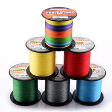 500M Fishing Fluorocarbon PE Lines 4 Braid Stands Multifilament Angling Braided 6LB-100LB Fishing Mainline Accessories frwanf 8 strand japan super strong pe braided fishing line multifilament fishing line 500m braid thread black 8 braid 6lb 300lb