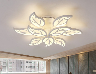 Ceiling Lights Lights & Lighting Confident Nordic Led Chandelier Light Warm/nature/cool White Leaf Lampara De Techo For Bedroom/living Room/home Decor Chandelier Ceiling