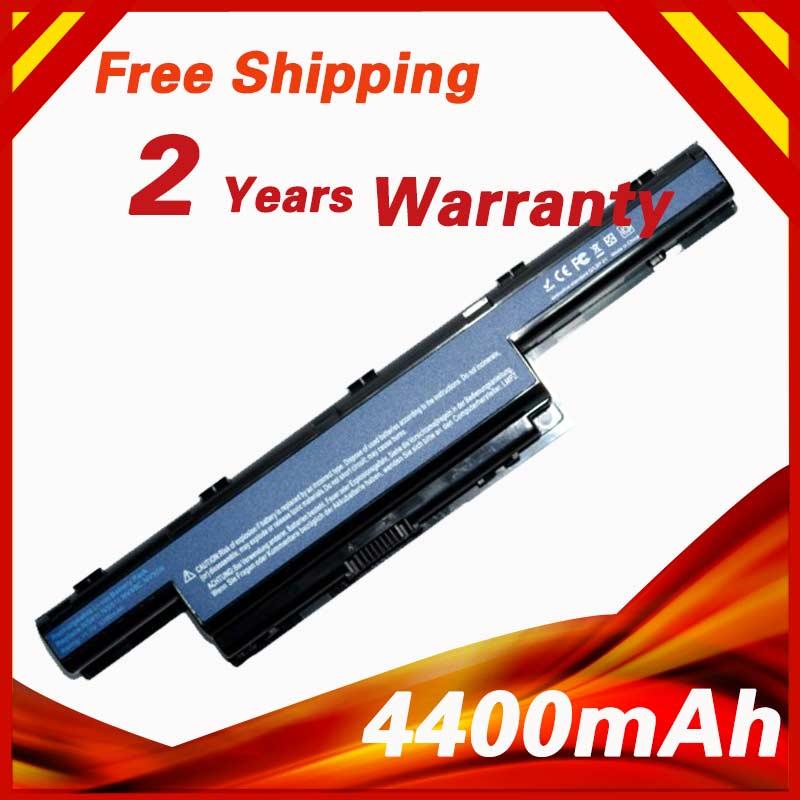 4400 mah batteria Del Computer Portatile per ACER AS10D31 11.v AS10D41 AS10D51 AS10D61 AS10D75 AS10D75 AS10D81 AS10G3E 5742g 5552g 5750g 5741
