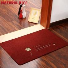 Hot 4 color Flower Bathroom Carpet Hall Bath Mat Polyester Bath Rug Mat For Toilet Carpet Bath Door mat Carpets
