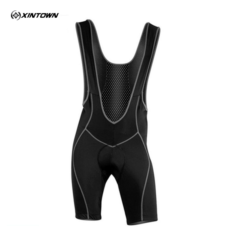 XINTOWN Sportswear 2015 Men MBT Bike Cycle Racing CYCLING Braces Pants SHORTS Jersey Padded Tights Wolfbike Polyester Black цена