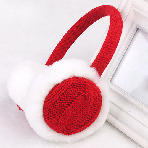 Women Girl Winter Warm Kint Ear