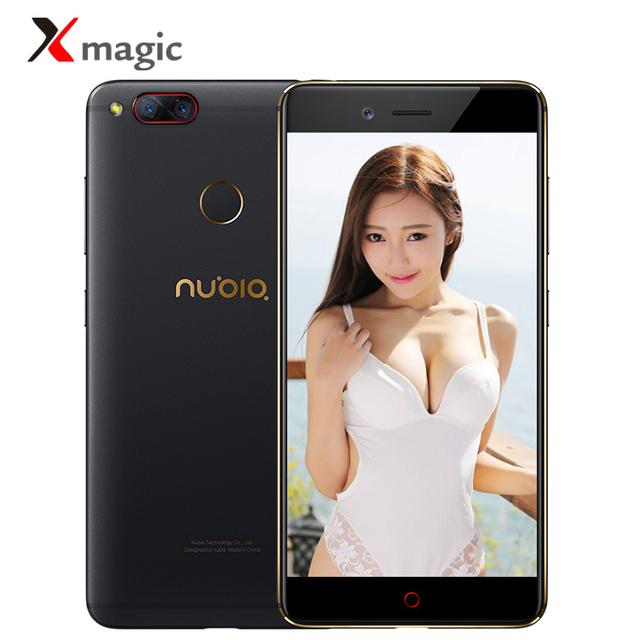 "Original ZTE Nubia Z17 Mini 4GB RAM 64GB ROM Mobile Phone Snapdragon652 Cellphone Fingerprint Dual Cameral FDD LTE 4G 5.2 "" OTA"