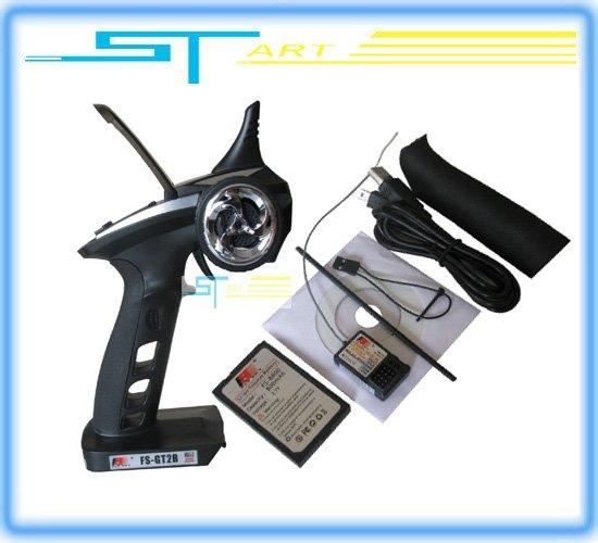 10PCS Wholesale Flysky FS-GT2B FS GT2B 2.4G 3CH Gun RC Transmitter & Receiver RX
