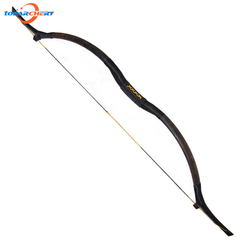 35lbs 40lbs Traditional Handmade 54'' Hunting Archery Longbow with Horsehide & Leather for Recurve Wooden Bow Shooting Games chinese ancient tradition of the revcurve bow of pure handmade outdoor archery hunting practice sport games wooden longbow gift