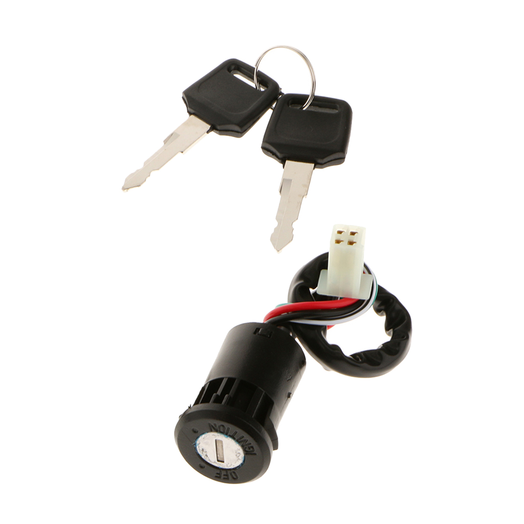 Image 5 - 4 Wires Ignition Key Switch 50cc 70cc 90cc 110cc 125cc Atv Dirt Bike Go Kart Universal Motorcycle Motorbike Car styling-in ATV Parts & Accessories from Automobiles & Motorcycles