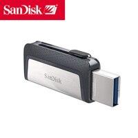 Pen drive dj otg tipo c disco na chave para pc sandisk usb 3.1 64 gb cle usb pen drive pendrive