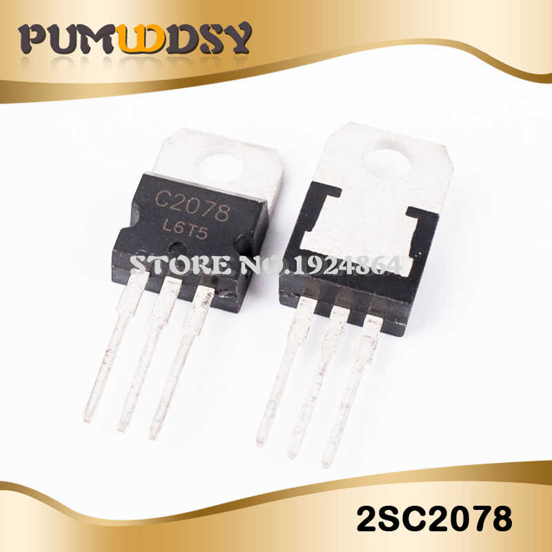 5Pcs/lot New Hot Sale RF/VHF/UHF Transistor TO 220 2SC2078