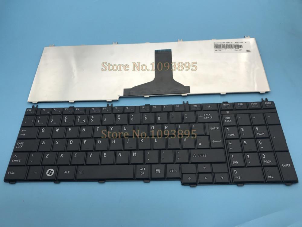 Genuine Original New Toshiba Satellite C670 C670D UK Black Keyboard NOT OEM