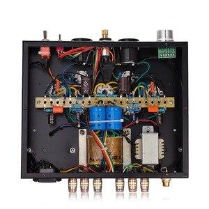 Image 4 - Nobsound Handmade HiFi 6P1 rura próżniowa zintegrowany wzmacniacz Stereo Single ended wzmacniacz słuchawkowy klasy A czarny