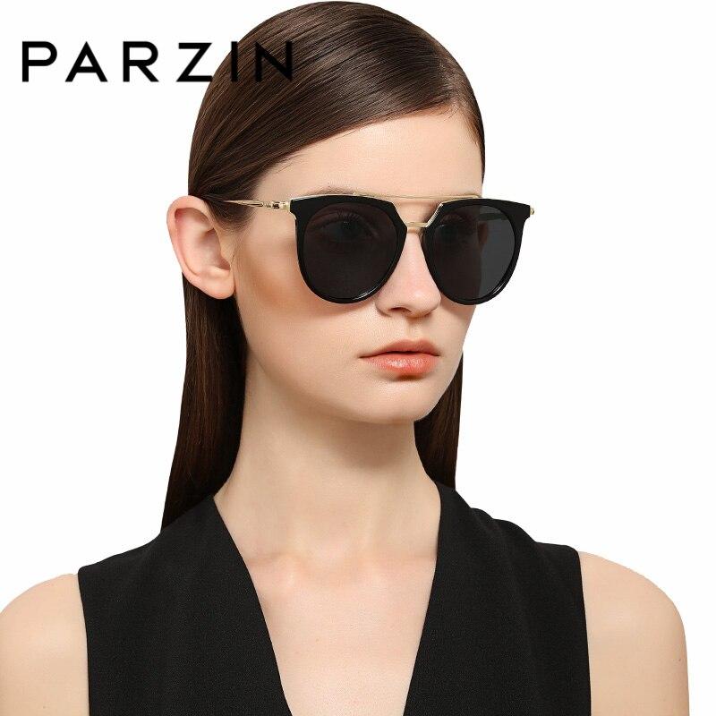 PARZIN Brand Fashion Sunglasses For Women Summer Accessories Quality HD Polarized Sun Glasses Travel Necessities 9892