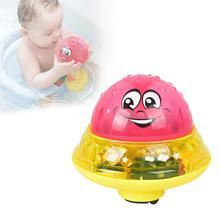 Infant Children Electric Induction Sprinkler Toy Light Music Baby Bath