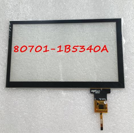 New for Capacitive Touch Screen 80701-1B5340A Digitizer glass External screen Free Shipping free shipping 7 85 flat screen handwriting external screen f wgj78058 v1 touchscreen external screen capacitive screen